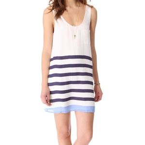 Joie Peri tank silk dress